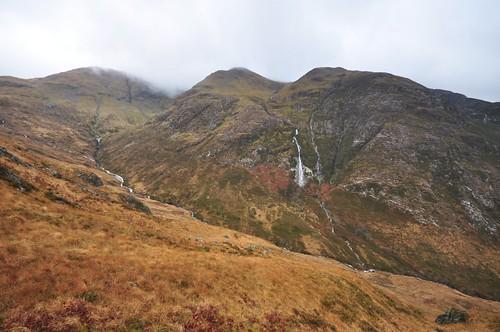 The North side of Aonach Eagach