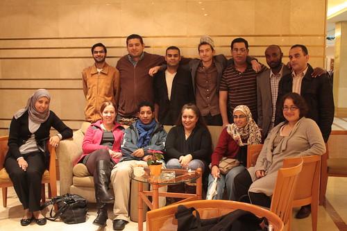 لفيف من المشاركين في الأصوات العالمية