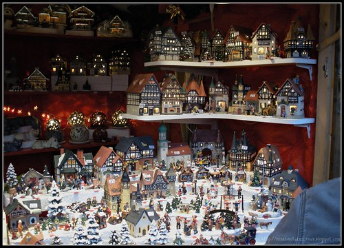 Christmas Villages Stall