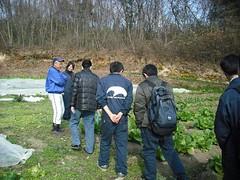 091209爽菜農園さん見学