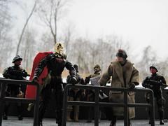 A Cold Meeting (guiltridden) Tags: iron cobra joe scrap gi destro volar grenadiers darklon