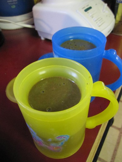 Chocolate Green Smoothies