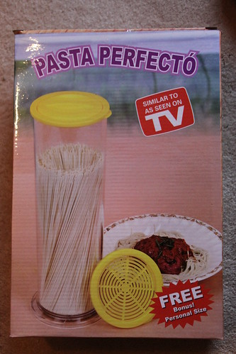 Pasta Perfecto with free bonus personal size