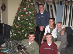 Christmas Eve with my brothers and sister