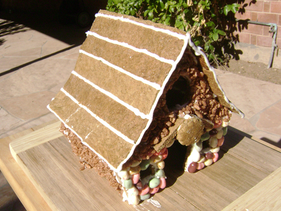 Daring Bakers December: Gingerbread House