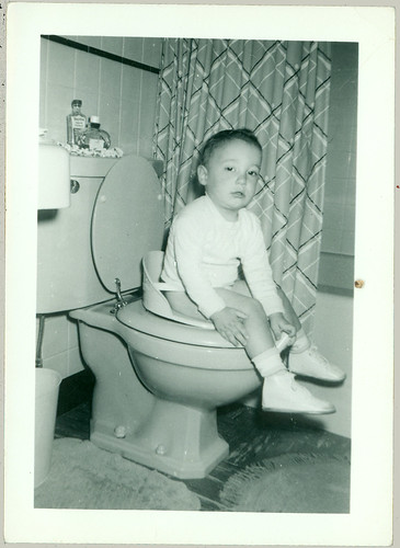 Boy on the pot