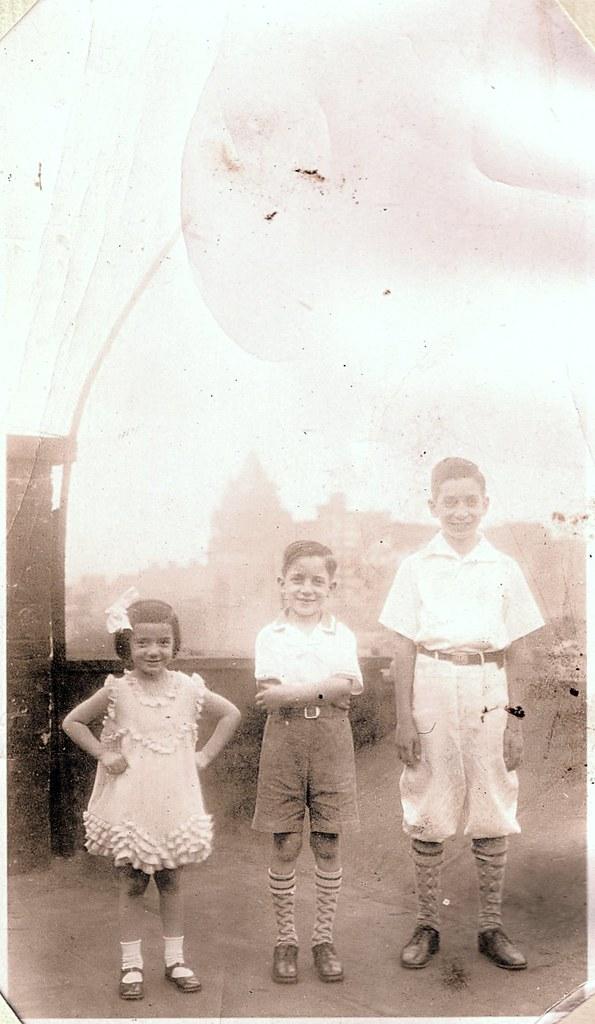 Paula, Joseph Francis & John Massimo Periale, c. 1931