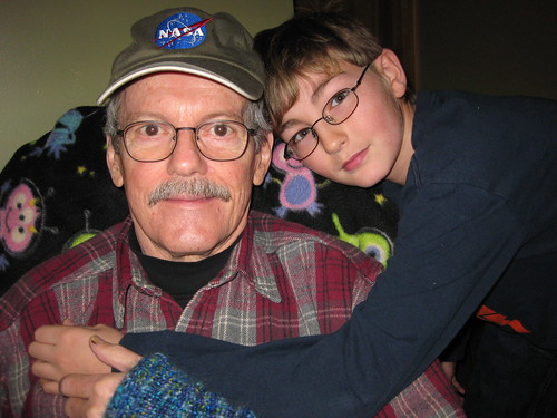 Grandpa Bill and Cody