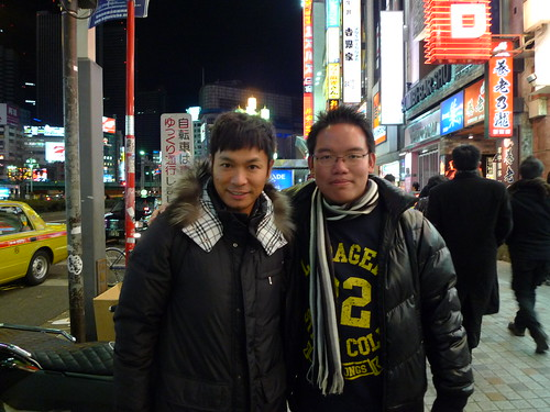 HK actor Roger Kwok in Shinjuku