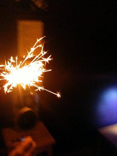 NYE sparkler 2