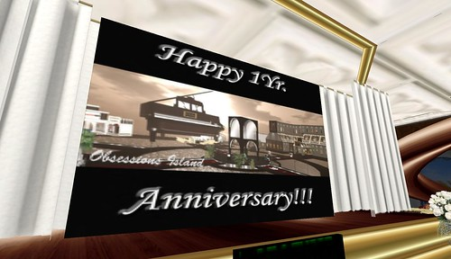 happy 1st anniversary to obsessions jazz ballroom