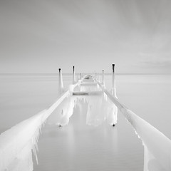 Frozen jetty (p i c a) Tags: longexposure winter seascape cold ice beach nature outdoors pier frozen skne seaside sweden jetty balticsea icicle winterscape resund ndfilter ljunghusen nset nd110 hoyand4 bwnd110