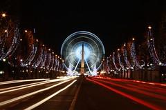 Big wheel of Concorde at Paris par Franck Vervial
