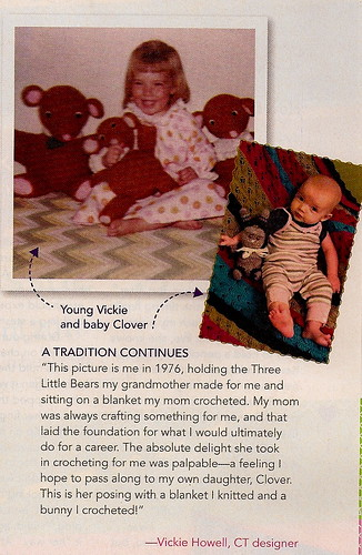 Clover in Crochet Today Mag