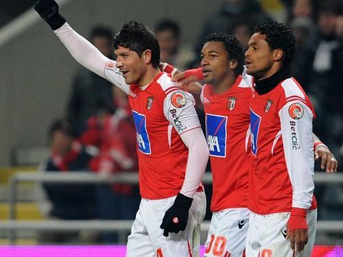 SC Braga 2 - 0 CD Nacioanal ©record