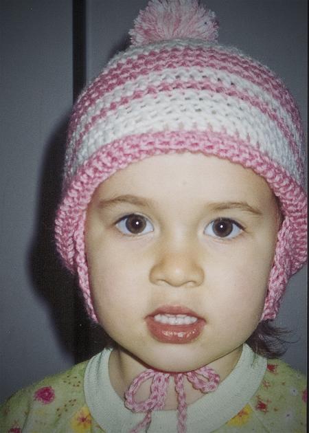 first crochet hat