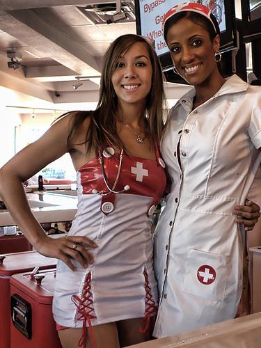 heart attack grill nurses. Heart Attack Grill Waitress-