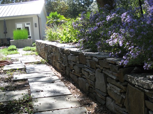 Retaining wall landscaping design dallas