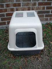 Cat Litter Box (operaphan2) Tags: freecycle