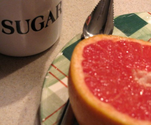 New Year's grapefruit
