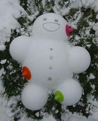 Annemarie's snowman