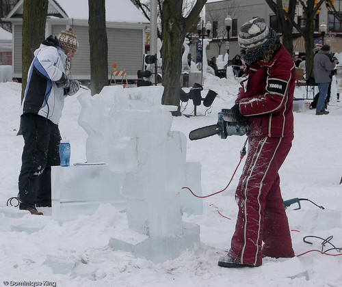 Plymouth (MI) Ice Festival-4