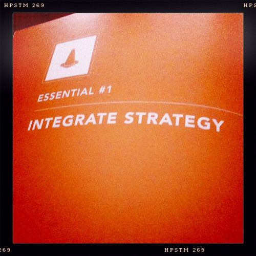 Orange Week | Integrate the Strategy | Part 1