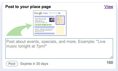 Google Local Business Real Time Info