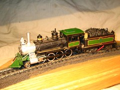 Brass HO Aristo-Craft 2-8-0 Consolidation Steam Locomotive (a69mustang4me) Tags: railroad scale layout model trains ho brass locomotives interlake hoscale scratchbuilt modelrailroading