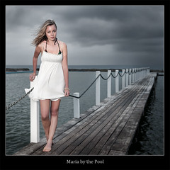 Maria By The Pool (brentbat) Tags: maria models northnarrabeen nostrobistinfo