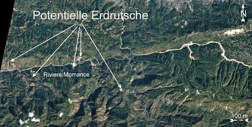 Haiti nach Erdbeben 15 Jan 2010 potentielle Erdrutsche