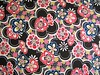 Chiyogami Flower Power Black and Red