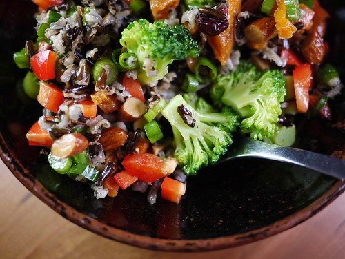 Wild Rice Salad with Apricots and Almonds - Gapers Block Drive-Thru ...