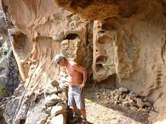 Visite du 2ème étage des ruines médiévales du Castellu