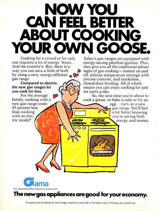 Vintage Ad #1,009: Now you can feel better about cooking your own goose