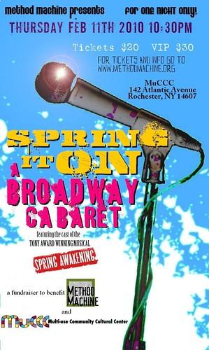 Spring Awakening Cabaret: Rochester