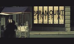 Paramount Center (Nick Keating) Tags: street city urban boston canon ma massachusetts streetphotography photowalk streetvendor 30d paramounttheatre emersoncollege paramountbuilding nickkeating paramountcenter filmtone