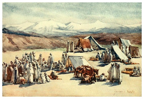 015-Dia de mercado en Timgad-Algeria and Tunis (1906)-Frances E. Nesbitt