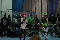 Hellions vs. Slashers (104) (cthomps1980) Tags: city party hot metal slumber steel roller derby demons hellions slashers