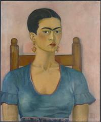 Frida Kahlo - Self-Portrait, 1930