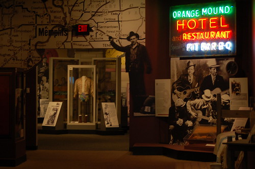 Inside the RocknSoul Museum, Memphis, Tenn.