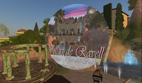 villas de ravello in second life