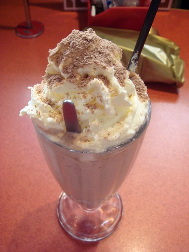 Iced chocolate@Choclicious