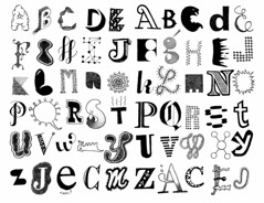Letters 26 (Don Moyer) Tags: moleskine ink notebook typography sketch drawing letters doodle type characters alphabet moyer donmoyer