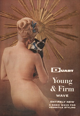 young and firm (sweetheartville) Tags: nude kitten kitsch 1960s perm vintageads vintagebeauty