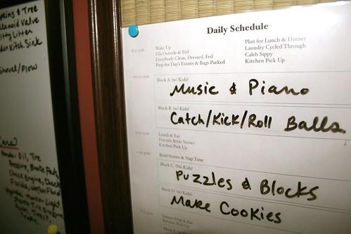 Daily Organization 3