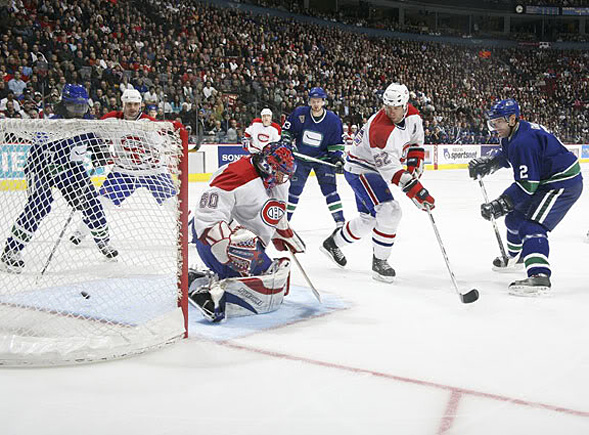 Canucks vs. Habs