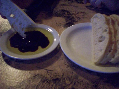 bread and balsamic
