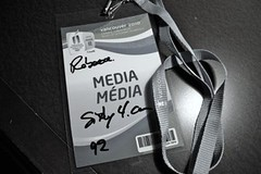 The magic lanyard (for the PG torch celebration anyway)