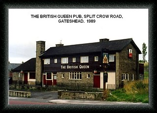 british queen pub gateshead  1989